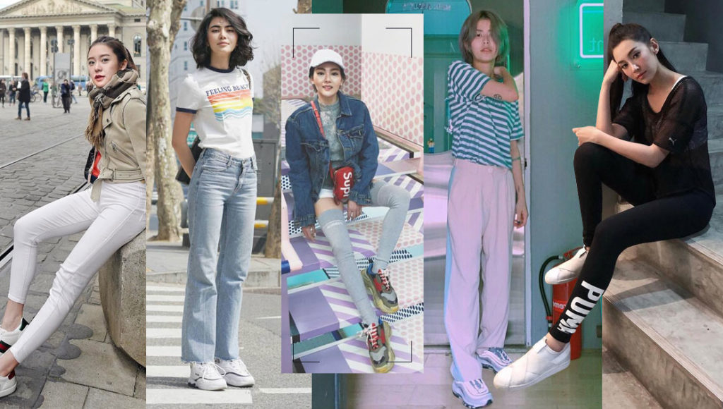ไอเดียแมทช์เสื้อผ้ากับ Sneaker