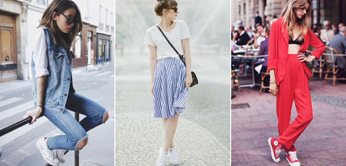 เสื้อยืด – กางเกงยีนส์
