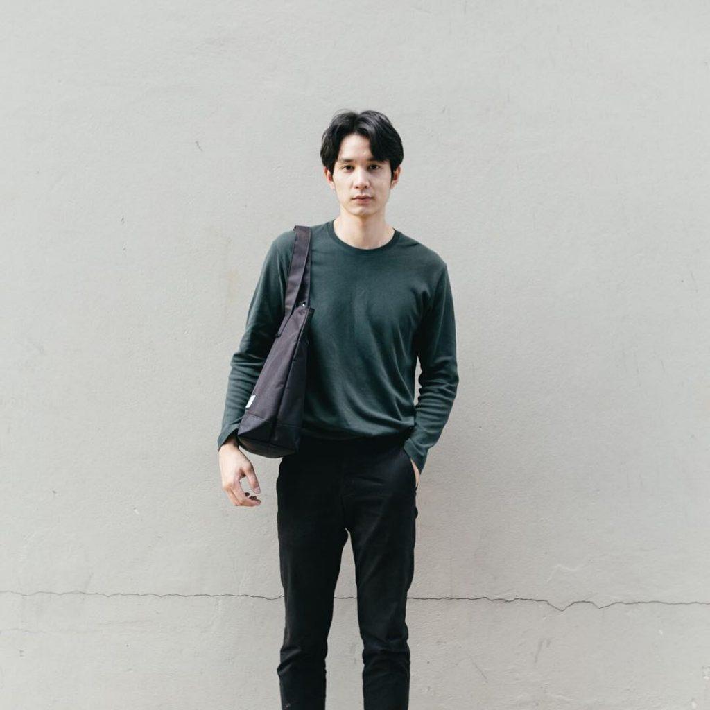 เสื้อแขนยาว x กางเกงชิโน