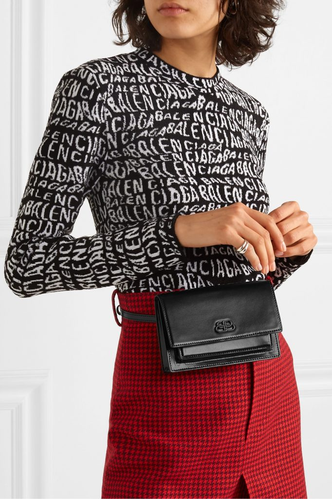 กระเป๋าคาดเอว-BALENCIAGA รุ่น Sharp XS belt bag
