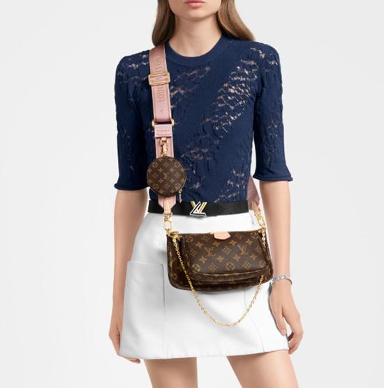 แฟชั่นกระเป๋า Multi Bag-Louis Vuitton Multi-Pochette Accessories Bag